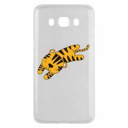 Чехол для Samsung J5 2016 Little striped tiger