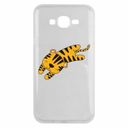 Чохол для Samsung J7 2015 Little striped tiger