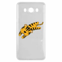 Чехол для Samsung J7 2016 Little striped tiger