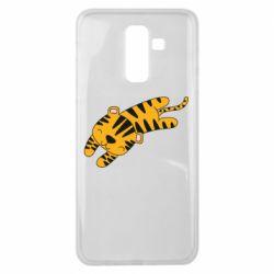 Чехол для Samsung J8 2018 Little striped tiger