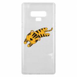 Чехол для Samsung Note 9 Little striped tiger