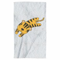 Полотенце Little striped tiger