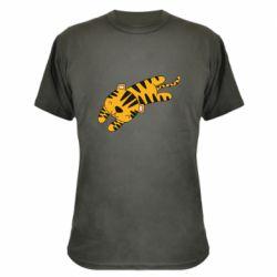 Камуфляжная футболка Little striped tiger