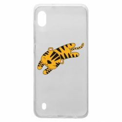Чохол для Samsung A10 Little striped tiger