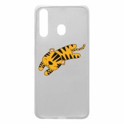 Чехол для Samsung A60 Little striped tiger