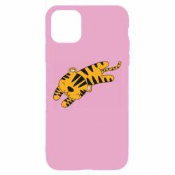 Чехол для iPhone 11 Little striped tiger