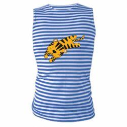 Майка-тельняшка Little striped tiger