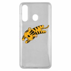 Чехол для Samsung M40 Little striped tiger