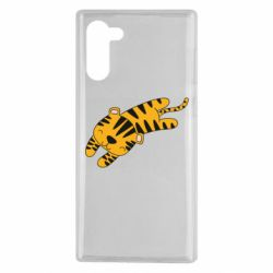 Чехол для Samsung Note 10 Little striped tiger