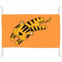 Флаг Little striped tiger