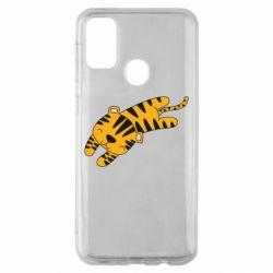 Чехол для Samsung M30s Little striped tiger