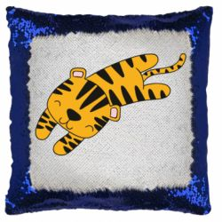 Подушка-хамелеон Little striped tiger