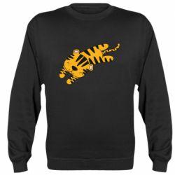 Реглан (свитшот) Little striped tiger