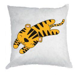 Подушка Little striped tiger