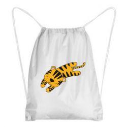 Рюкзак-мешок Little striped tiger