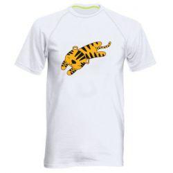 Мужская спортивная футболка Little striped tiger