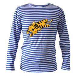 Тельняшка с длинным рукавом Little striped tiger