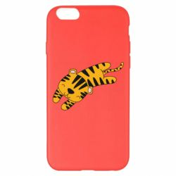 Чохол для iPhone 6 Plus/6S Plus Little striped tiger