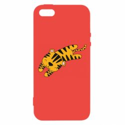 Чехол для iPhone5/5S/SE Little striped tiger