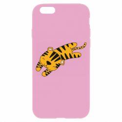 Чехол для iPhone 6/6S Little striped tiger