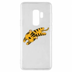 Чехол для Samsung S9+ Little striped tiger