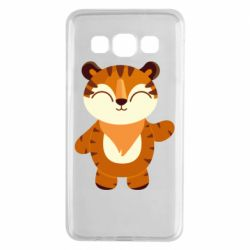 Чехол для Samsung A3 2015 Little tiger with a smile