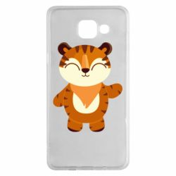 Чехол для Samsung A5 2016 Little tiger with a smile