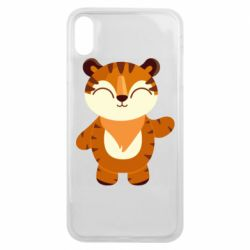 Чехол для iPhone Xs Max Little tiger with a smile