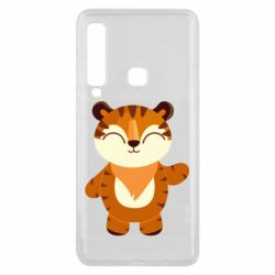 Чехол для Samsung A9 2018 Little tiger with a smile