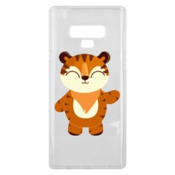 Чехол для Samsung Note 9 Little tiger with a smile