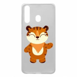 Чехол для Samsung A60 Little tiger with a smile