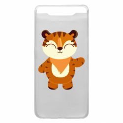 Чехол для Samsung A80 Little tiger with a smile
