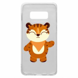 Чехол для Samsung S10e Little tiger with a smile