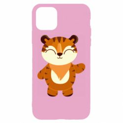 Чехол для iPhone 11 Little tiger with a smile