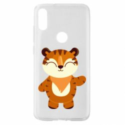 Чехол для Xiaomi Mi Play Little tiger with a smile