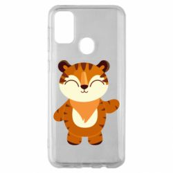 Чехол для Samsung M30s Little tiger with a smile