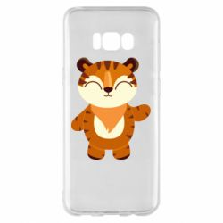 Чехол для Samsung S8+ Little tiger with a smile