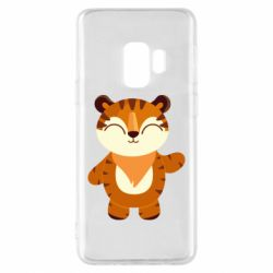 Чехол для Samsung S9 Little tiger with a smile