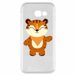 Чехол для Samsung A5 2017 Little tiger with a smile