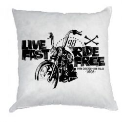 Подушка Live fast