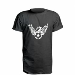 Подовжена футболка Liverpool and soccer ball