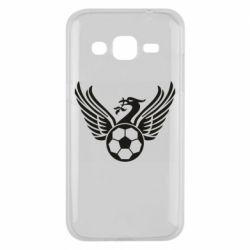 Чохол для Samsung J2 2015 Liverpool and soccer ball