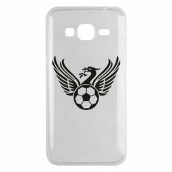 Чохол для Samsung J3 2016 Liverpool and soccer ball