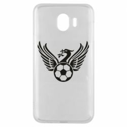 Чехол для Samsung J4 Liverpool and soccer ball