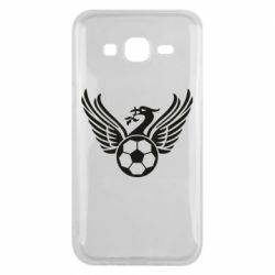 Чехол для Samsung J5 2015 Liverpool and soccer ball