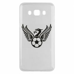 Чехол для Samsung J5 2016 Liverpool and soccer ball