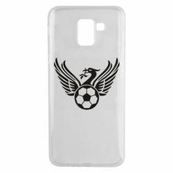 Чохол для Samsung J6 Liverpool and soccer ball
