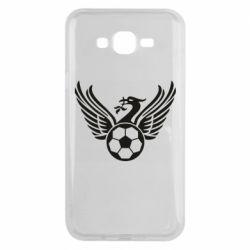 Чохол для Samsung J7 2015 Liverpool and soccer ball