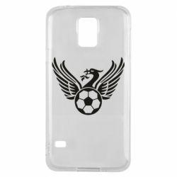 Чохол для Samsung S5 Liverpool and soccer ball