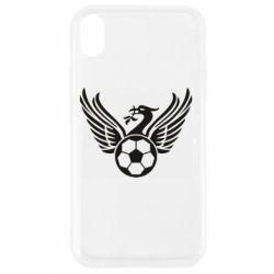 Чохол для iPhone XR Liverpool and soccer ball
